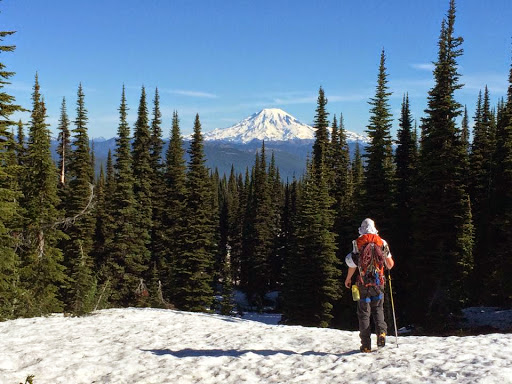 Mt. Adams: Adams Glacier (Grade III, Steep Snow, AI2)