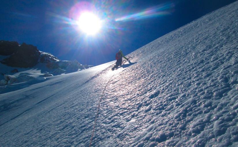 Mt. Adams: Adams Glacier (Grade III, Steep Snow,AI2)