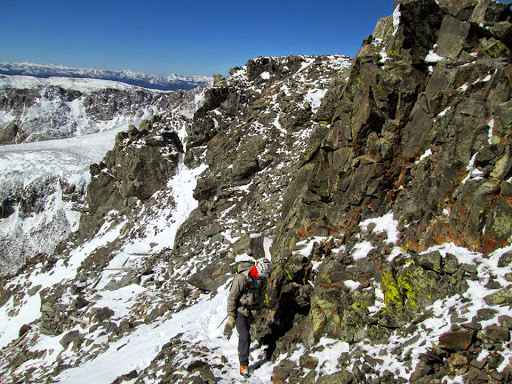 A Winter Preview on Quandary's West Ridge